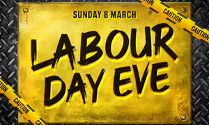 Labour Day Eve Party at Temperance Hotel